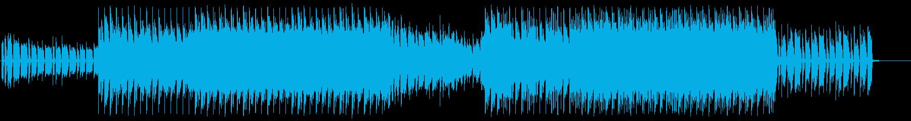 ダークで無機質・サイバーなテクスチャーの再生済みの波形