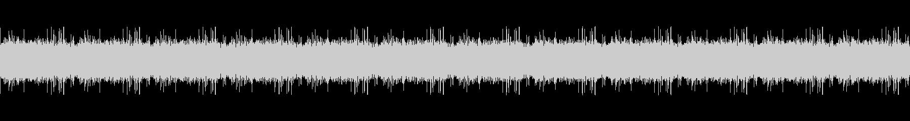 小川の音ループ(ジャララ)の未再生の波形