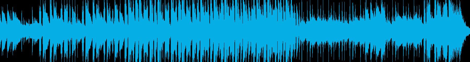 まったり穏やか口笛アコースティックループの再生済みの波形