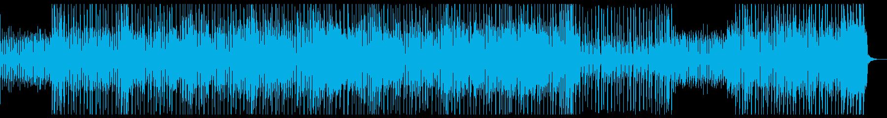 ロック♪かっこいい動画映像CM♪ギターの再生済みの波形