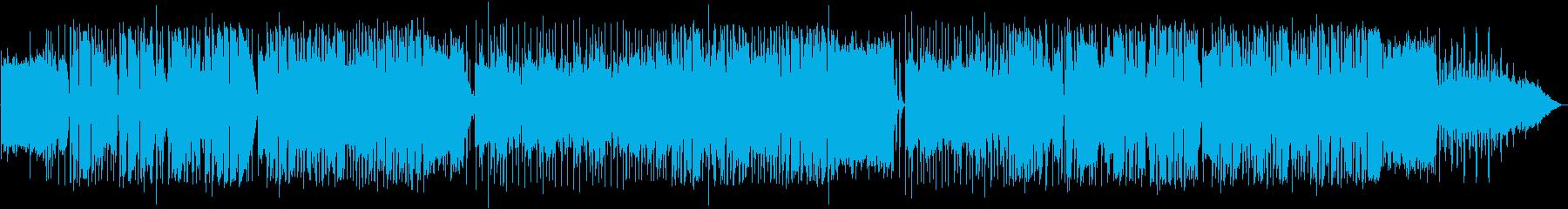 英語洋楽:中期ビートルズ・車のロックの再生済みの波形