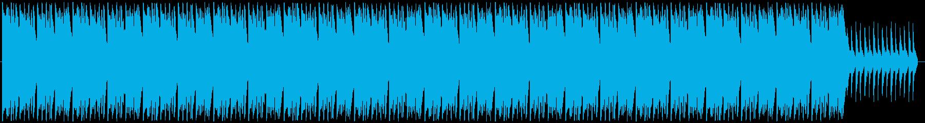 怪しい洋館をイメージしたBGMの再生済みの波形
