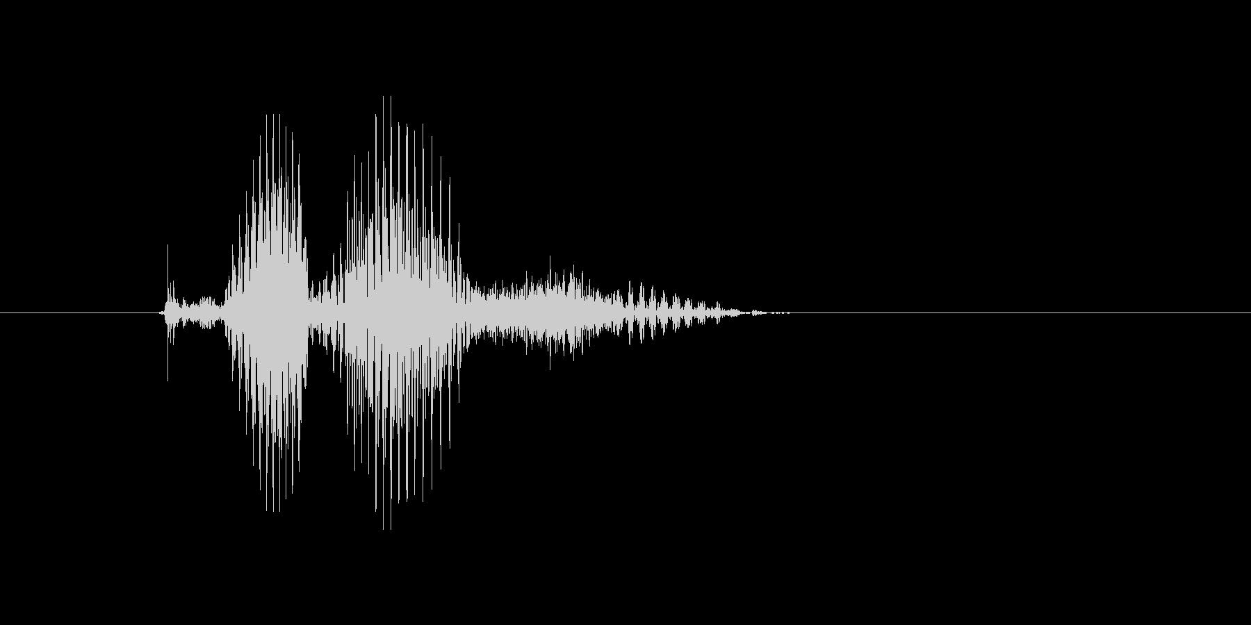 クロスの未再生の波形