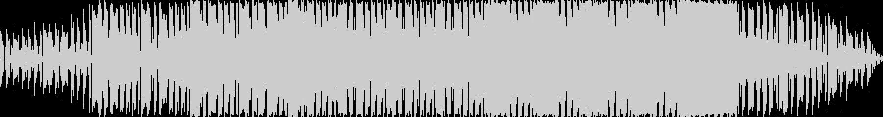 ループ可能なシンセポップの未再生の波形