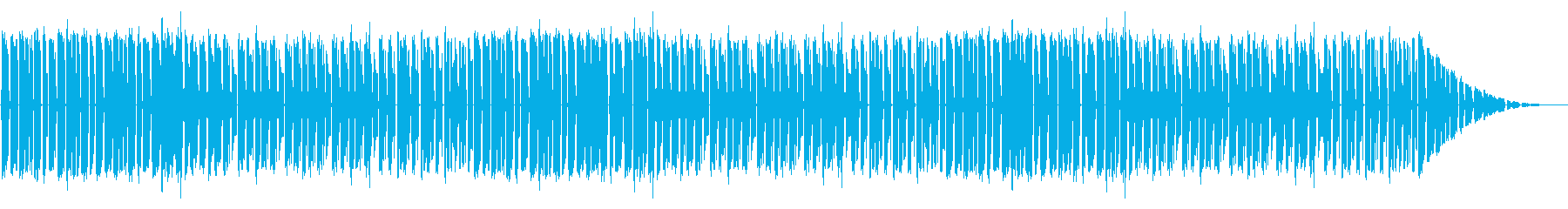 GB風スポーツゲームのステージ曲の再生済みの波形