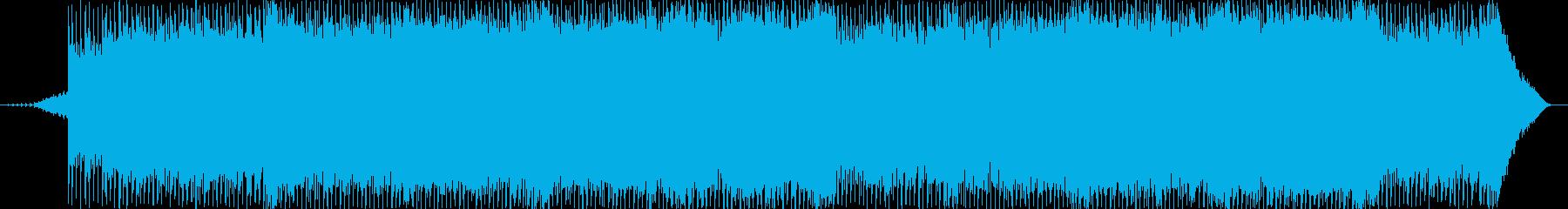 クリスマスソングの再生済みの波形