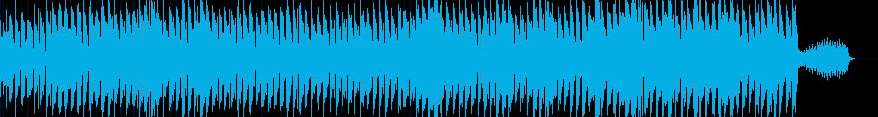 牧場っぽい雰囲気のBGMの再生済みの波形