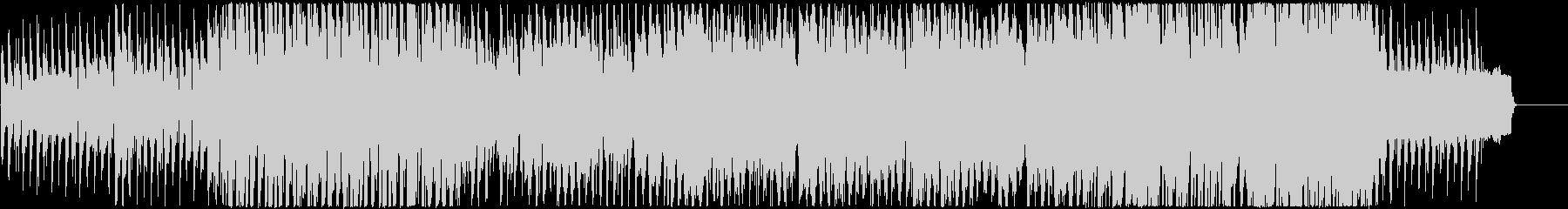 アコーディオン、シンセの可愛い系BGMの未再生の波形
