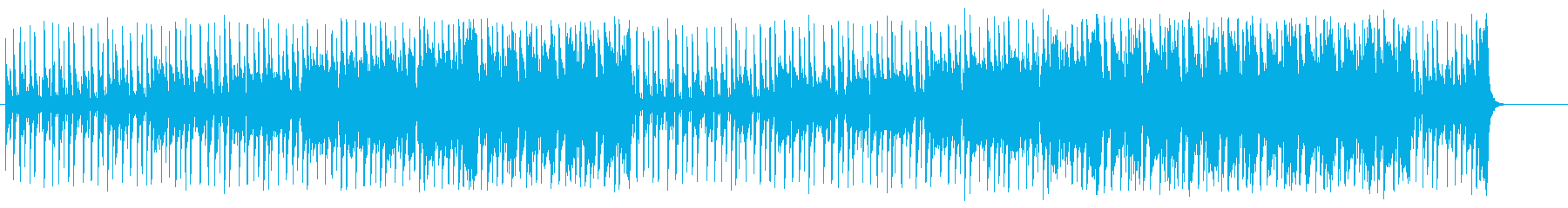 日曜の午後ののどかなポップ/BGの再生済みの波形