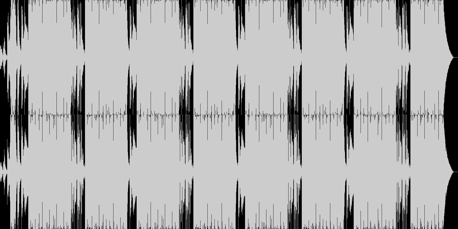ファンキーでリズミカルなサウンドの未再生の波形