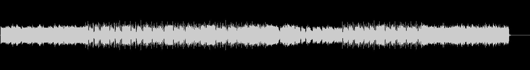 90年代風ローファイヒップホップの未再生の波形