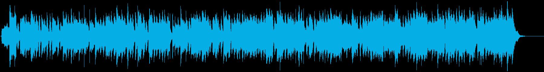 のどかで平和な牧歌的BGMの再生済みの波形