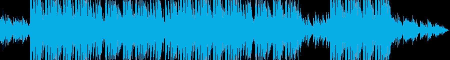 チルなベルサウンドが印象的なトラップの再生済みの波形