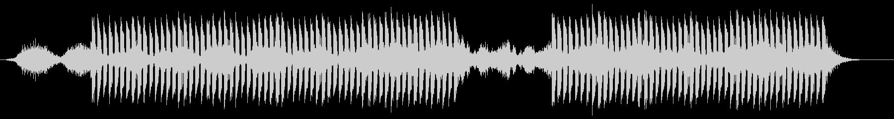 おしゃれかっこいいEDMジングル7の未再生の波形