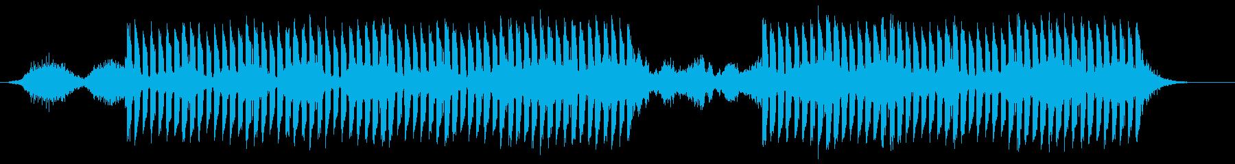 近未来的緊張感オープニング・現代的抽象的の再生済みの波形
