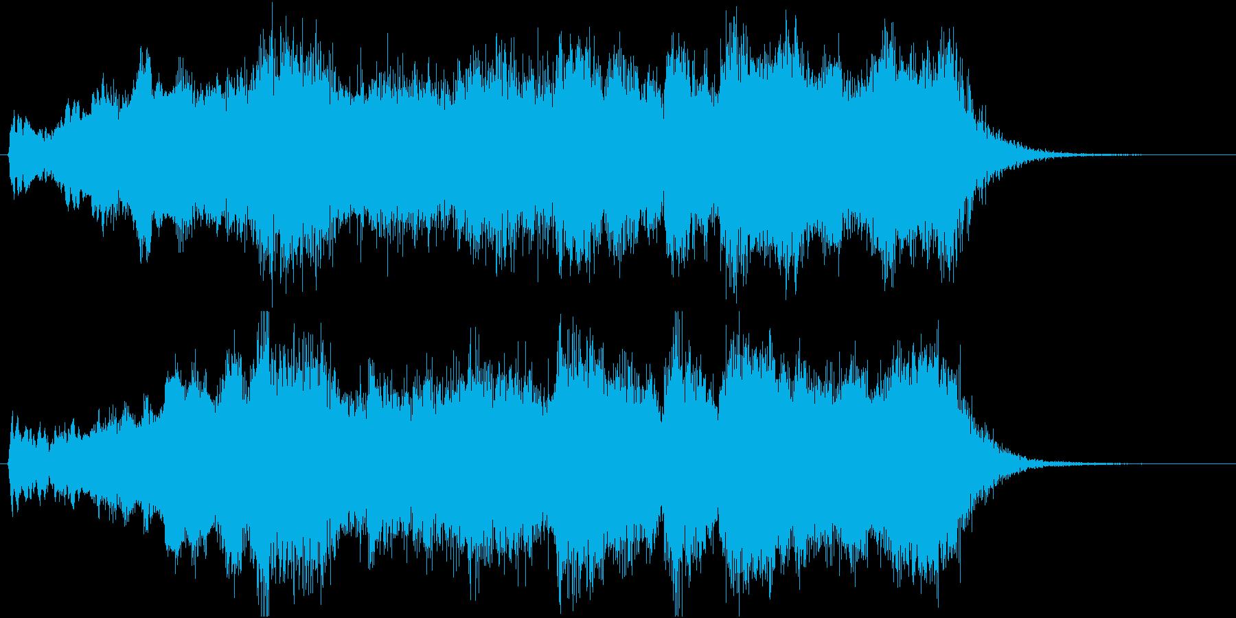 発表!表彰式ファンファーレ【2等・銀賞】の再生済みの波形