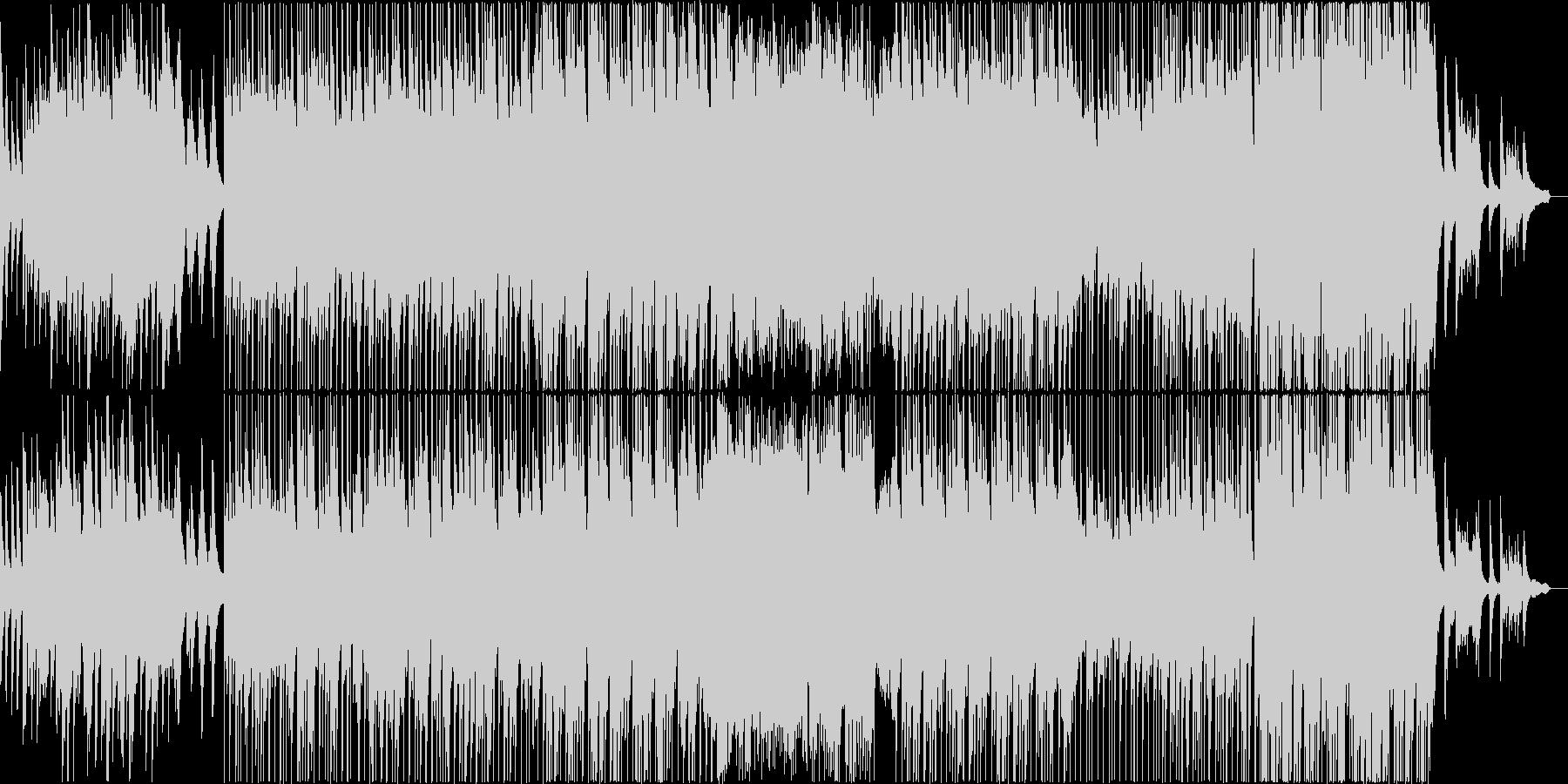 ゆっくりとした せつなめなピアノバラードの未再生の波形