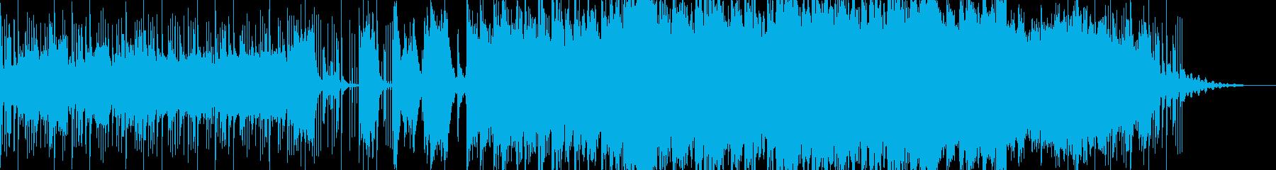 オーケストラ 男声コーラス 勇敢になったの再生済みの波形