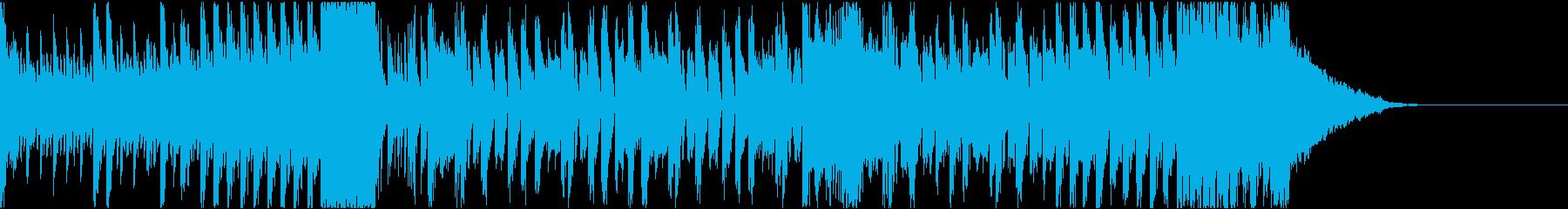 短めなダブステップの再生済みの波形