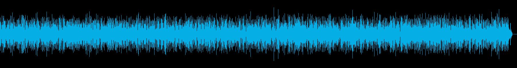 おしゃれでかっこいいパリ風アコーディオンの再生済みの波形