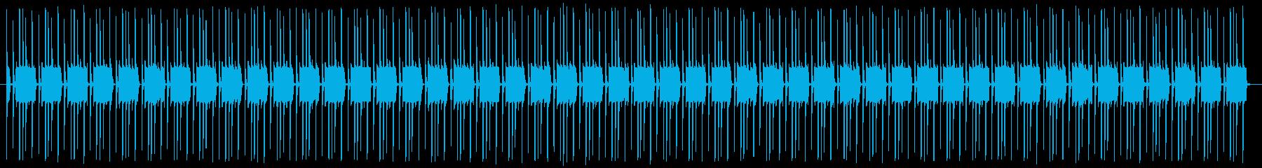 ベース&ドラムのみ 哀愁漂うジャム的音楽の再生済みの波形