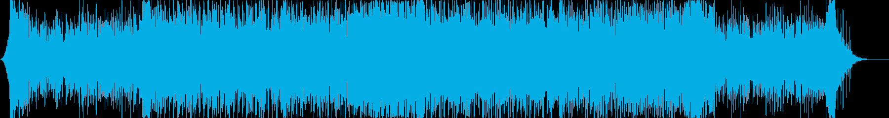 緊迫感のあるシンセを使ったシネマティックの再生済みの波形