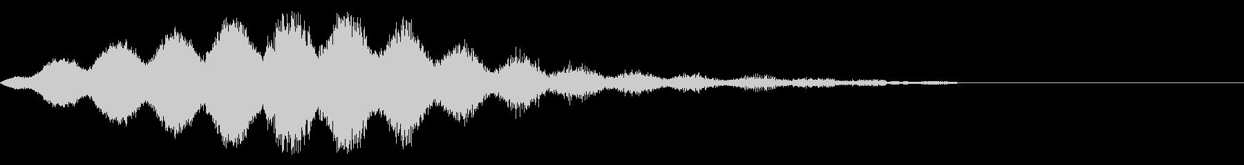 SF、ワープ、シュワシュワ系の未再生の波形