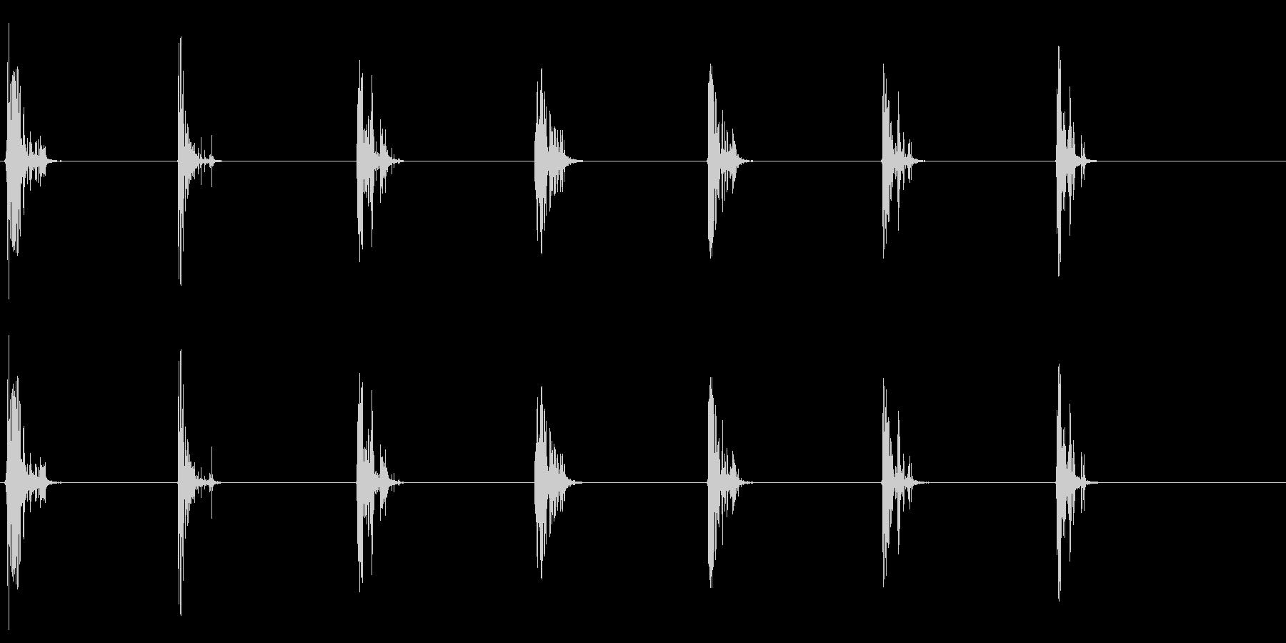 [生録音]ゴクゴクゴク…飲み込む音06の未再生の波形