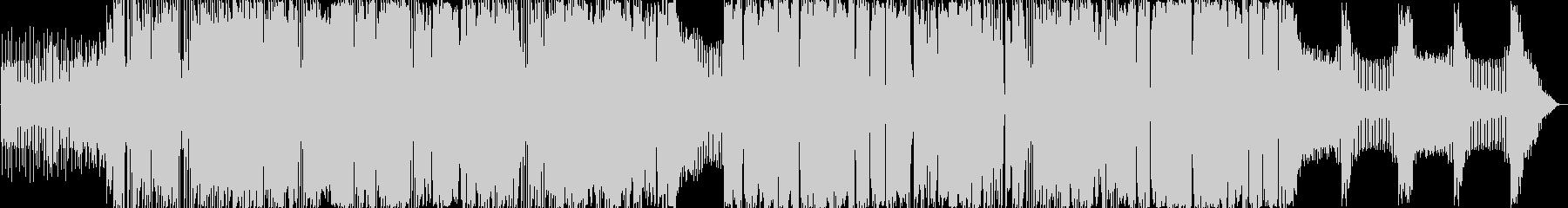 エレクトロ。ソフトEDM。の未再生の波形