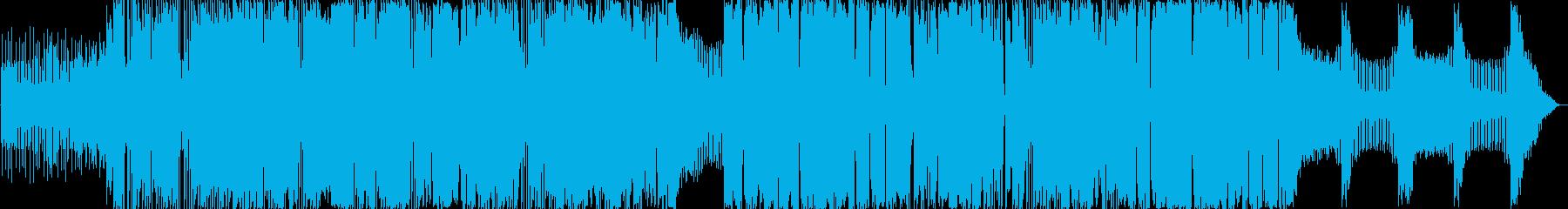 エレクトロ。ソフトEDM。の再生済みの波形