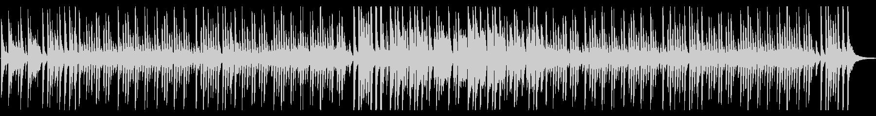 ほのぼの日常、コミカルでルンルンな曲Aの未再生の波形