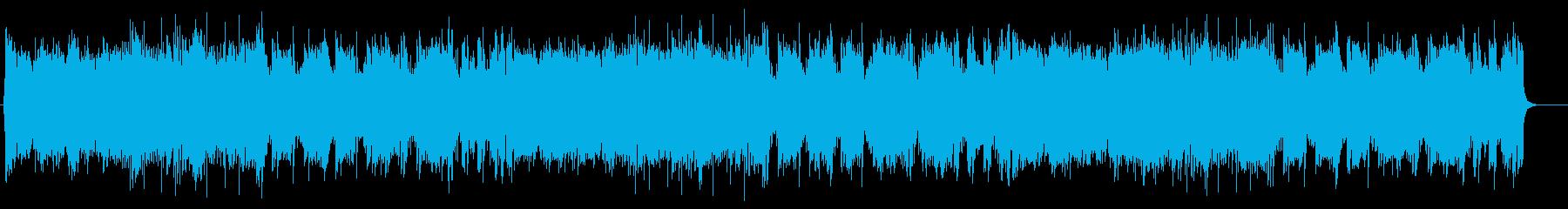 爽快なサウンドのミディアムポップスの再生済みの波形