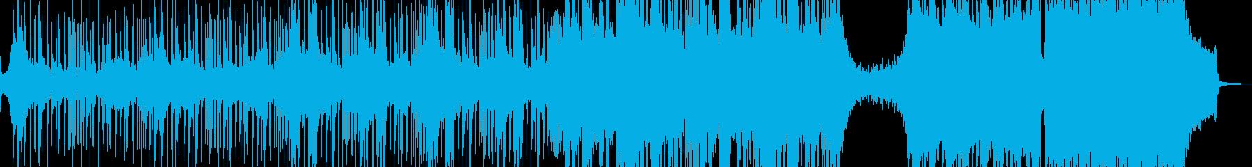 邪悪なヒップホップ・エレキギター有 短尺の再生済みの波形