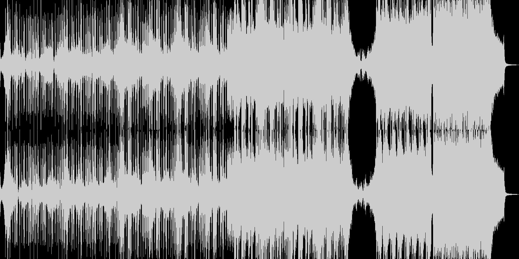 邪悪なヒップホップ・エレキギター有 短尺の未再生の波形