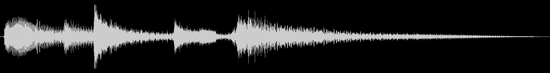 スタート音/荒野を立つ (アコギ生音)の未再生の波形
