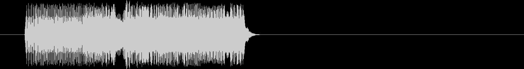 昭和アニメ系 ポチッとボタンを押す01の未再生の波形