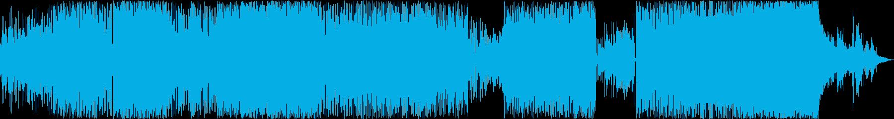SoulOsciの再生済みの波形