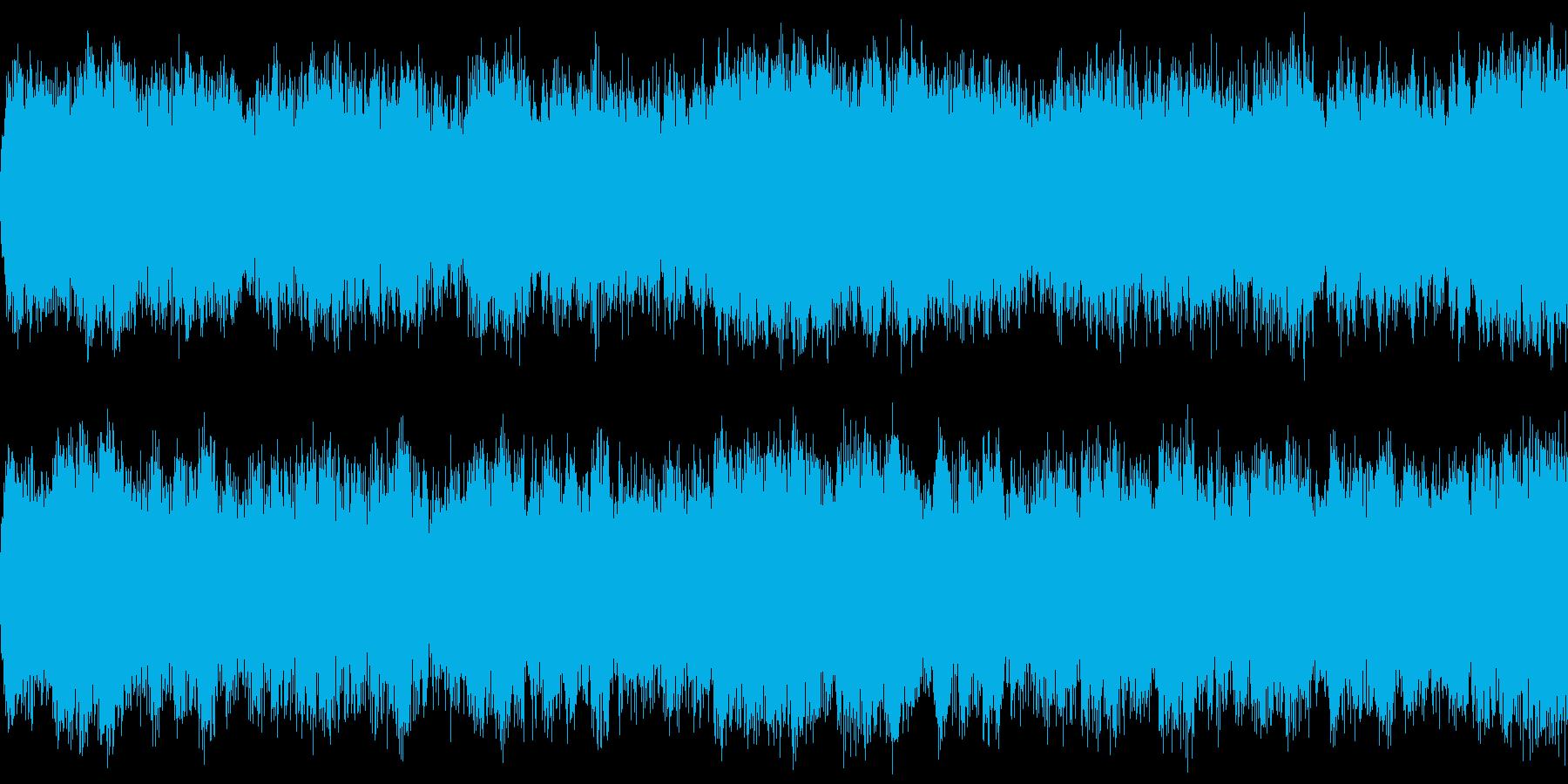 勇ましい行進曲 ループの再生済みの波形