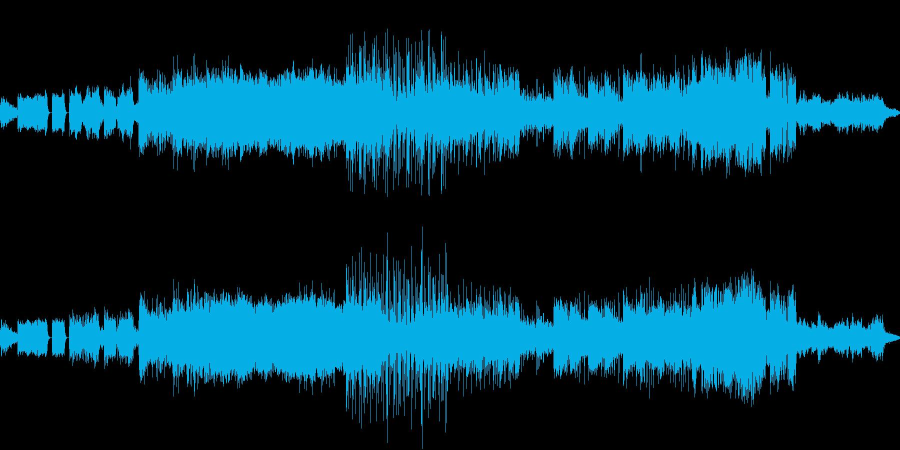 パワフル、色鮮やかでヘヴィなメタル交響曲の再生済みの波形