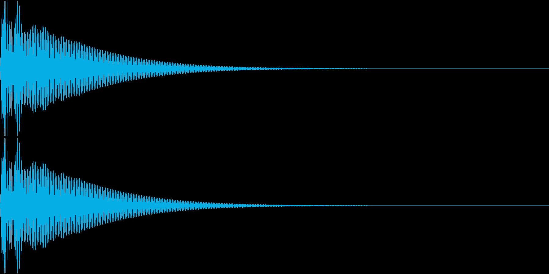 Cap フタ・栓を開ける音 12の再生済みの波形