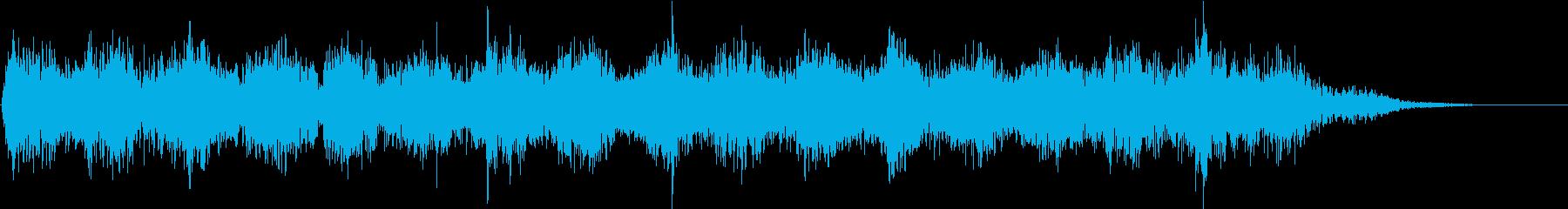 時空を越えていく不思議な音の再生済みの波形