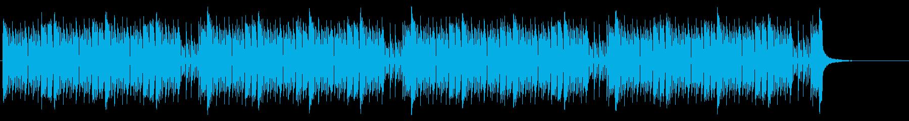 緊張感のあるEDM調バトル曲(シンセメロの再生済みの波形