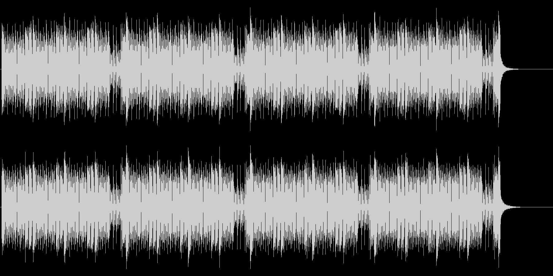 緊張感のあるEDM調バトル曲(シンセメロの未再生の波形