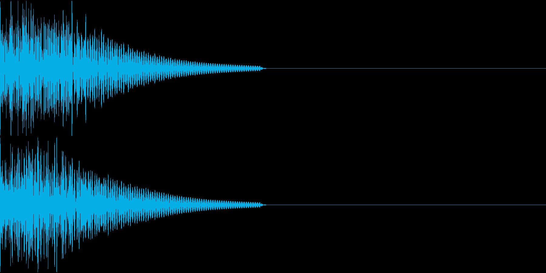 キック/壮大/広範囲/ドラム/低音/1Aの再生済みの波形