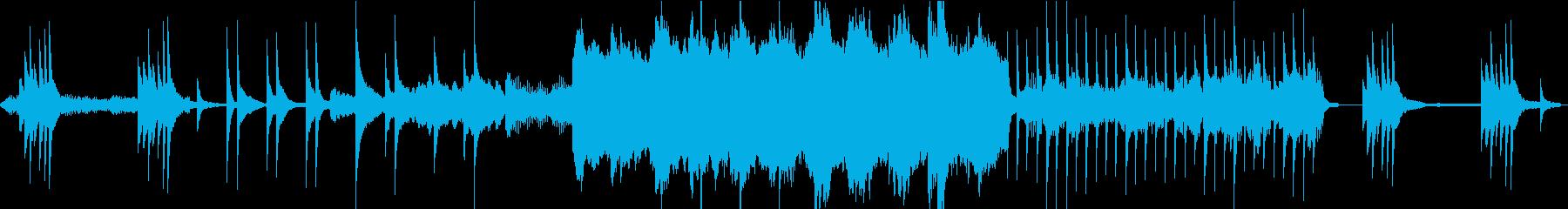 夜・幻想的な星々/温もりヴァイオリンLの再生済みの波形