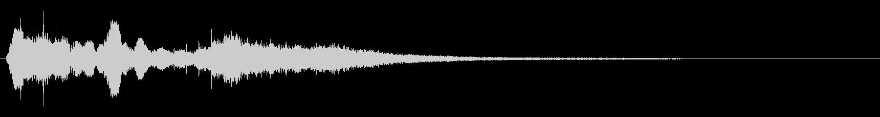 タイトルバック ホラー4の未再生の波形