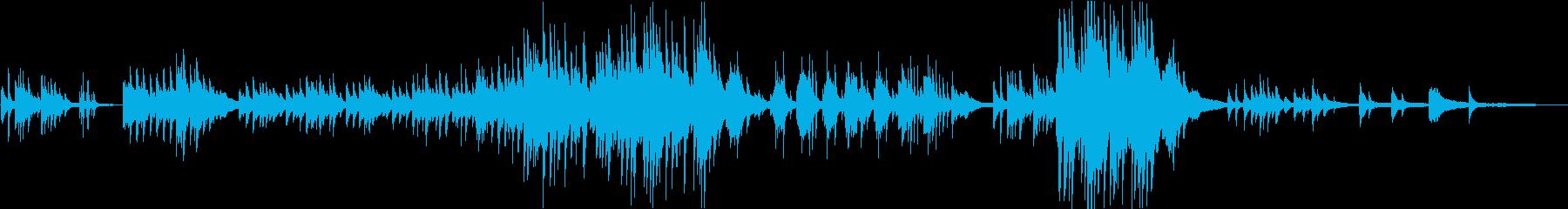 「エンディング向け」切ないピアノソロの再生済みの波形