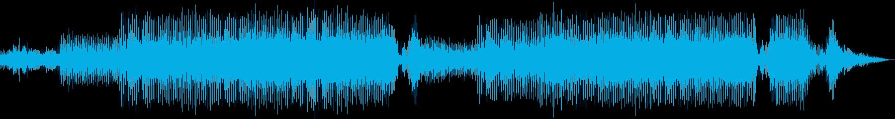 不思議な浮遊感を感じるエレクトロニカの再生済みの波形