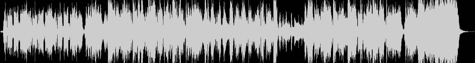 ドゥーワップのアカペララヴソングの未再生の波形