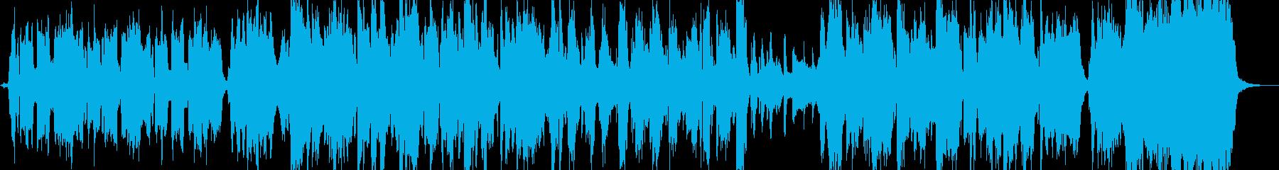 ドゥーワップのアカペララヴソングの再生済みの波形